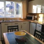 Redfield Cottage, self-catering in Montrose, kitchen
