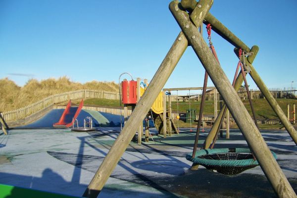 Play park in Montrose near Mall House